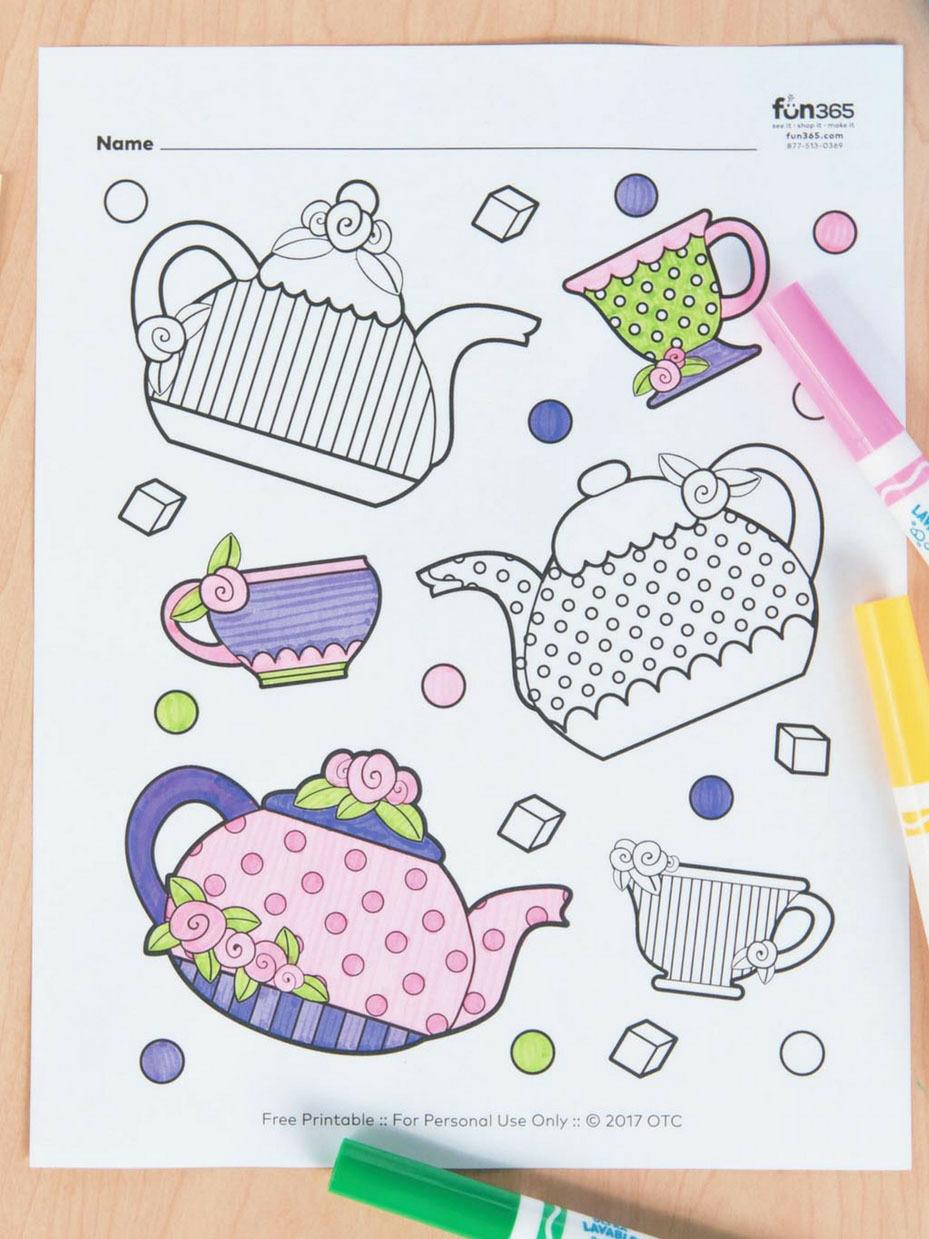 - Tea Party Ideas Fun365