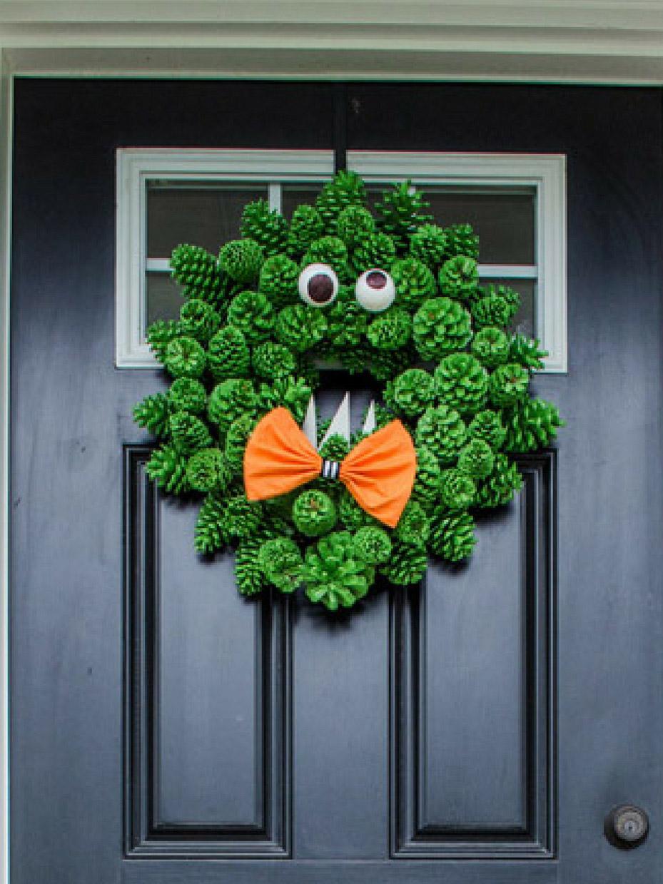 15 Diy Halloween Wreath Ideas Fun365