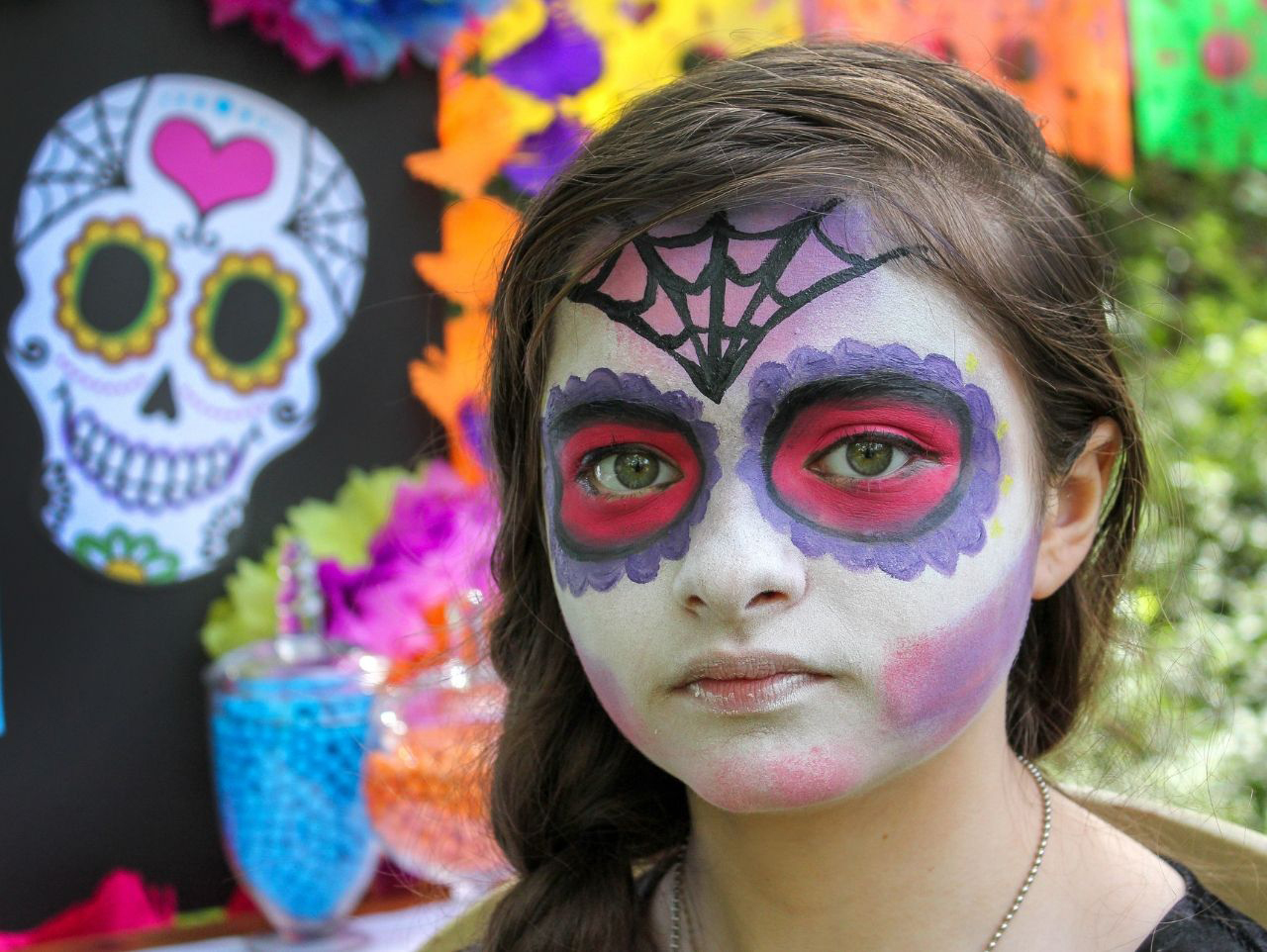 Day Of The Dead Face Paint Tutorial Fun365