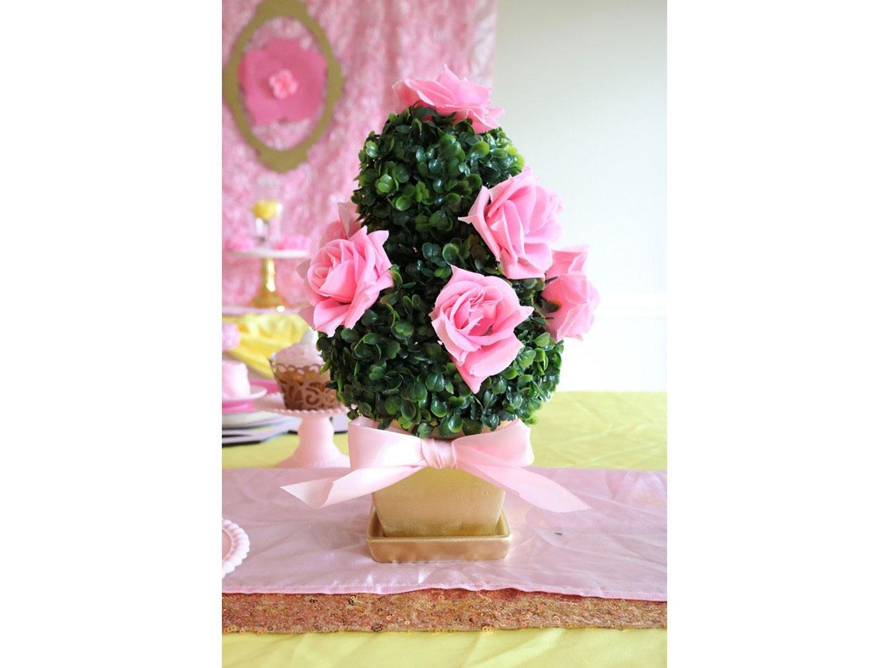 Diy Princess Tea Royal Boxwood Topiaries Fun365