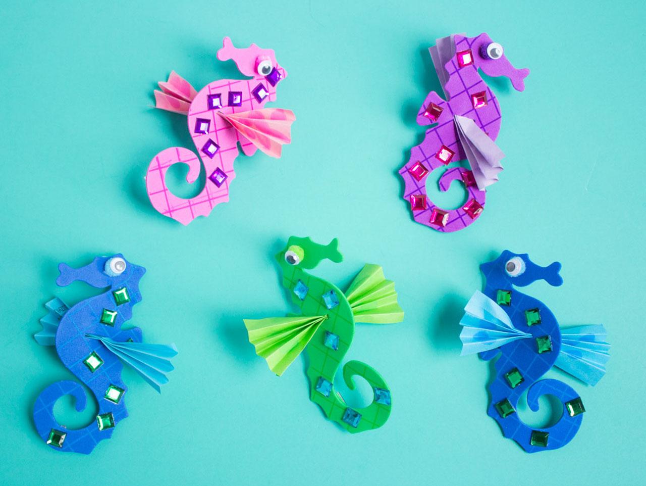Make Your Own Seahorses Fun365