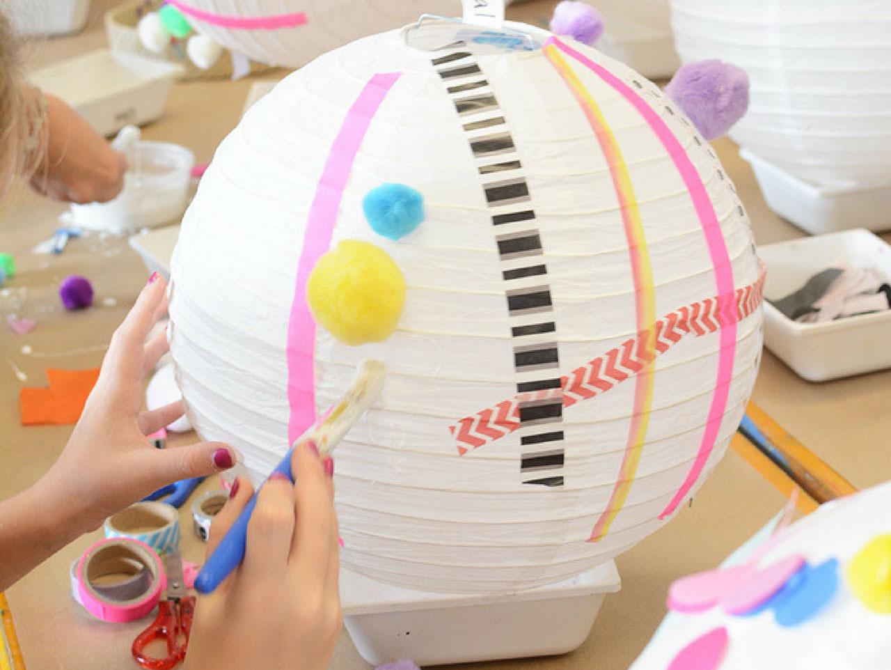 Paper Lantern Decorating Idea Fun365