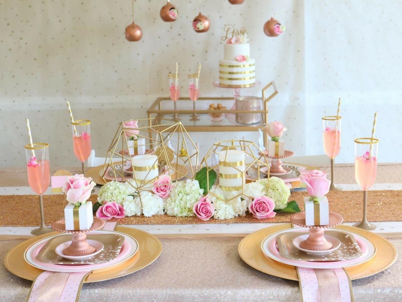Rose Gold Lemon Spritzer  Fun18