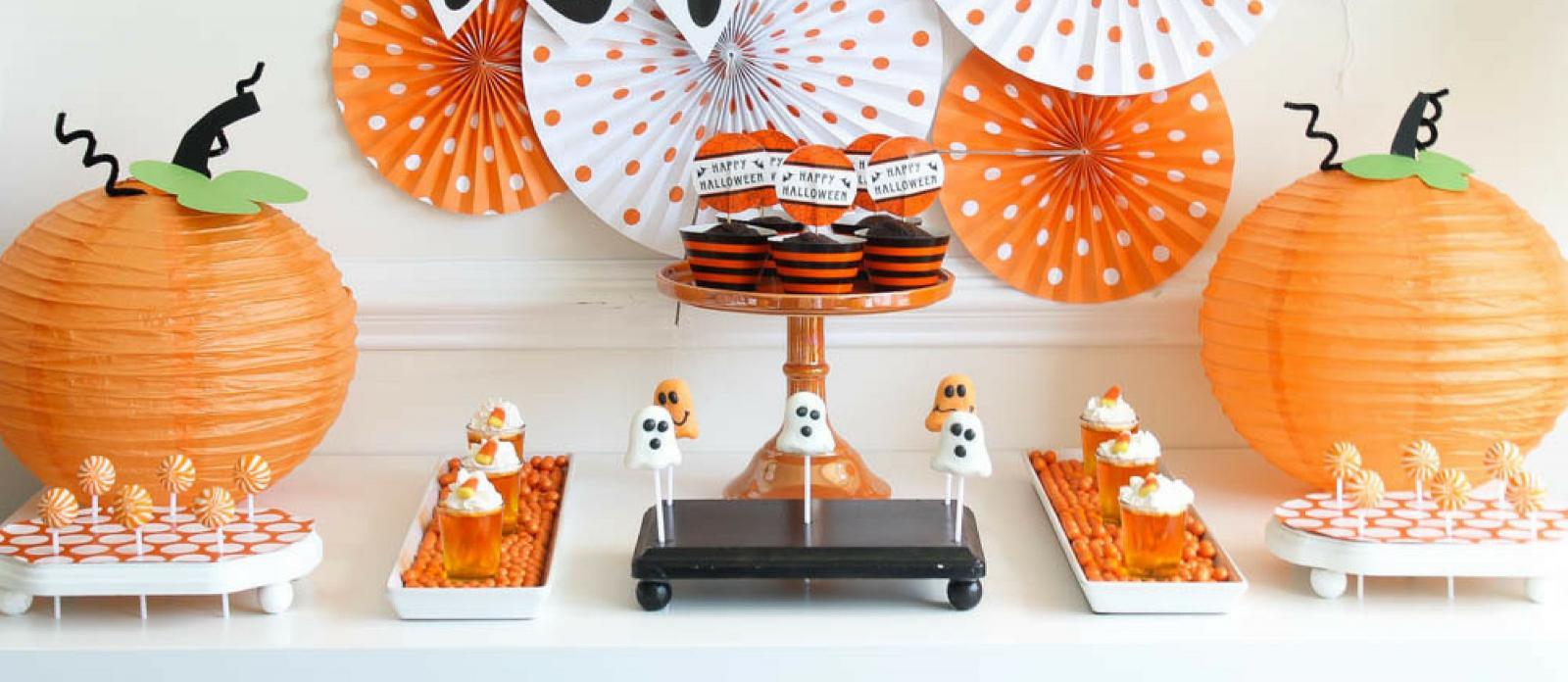 Boo Bash Diy Pumpkin Paper Lanterns Fun365